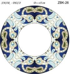 Эскиз для росписи, Зеркало диаметр-45см, SMAR-ZBK-26