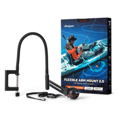 Лодочное крепление на транец для эхолота Deeper - Flexible Arm 2.0