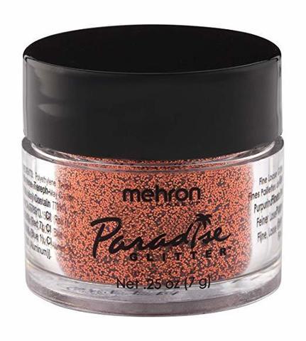 MEHRON Рассыпчатые блестки Paradise Glitter, Orange Harvest (Апельсиновый урожай), 7 г
