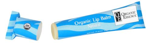 Organic Essence. Органический бальзам для губ, Натуральный (6 гр)