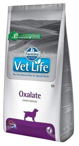Корм для собак Farmina Vet Life Canine Oxalate при мочекаменной болезни, при заболеваниях почек (12 кг)