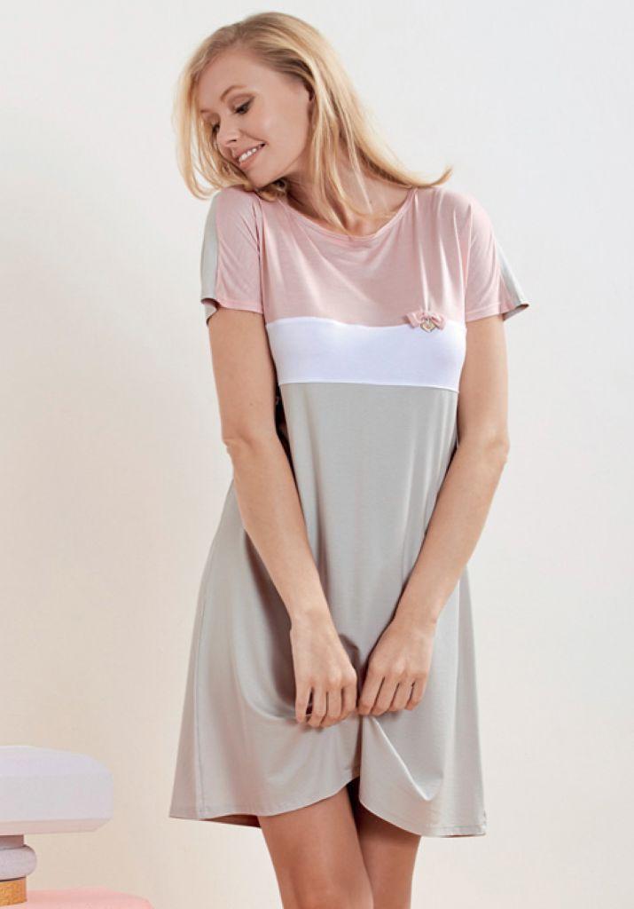 Домашнее платье из вискозы DiBen