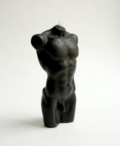 Свеча мужской силуэт BLACK