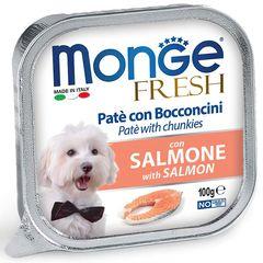 Консервы для собак, Monge Dog Fresh, с лососем