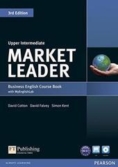Market Leader 3ed Upp-Interm CBk/DVD-ROM MyLab