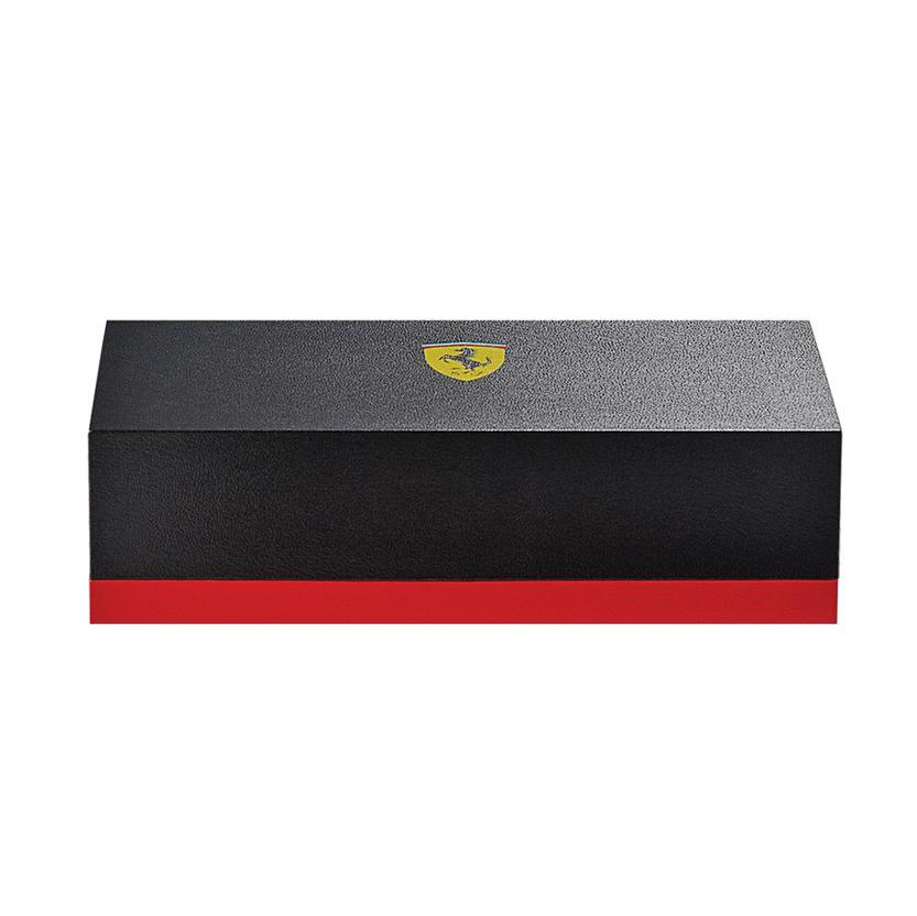Cross Townsend - Ferrari Brushed Black Etched Honeycomb Pattern/Black PVD, шариковая ручка