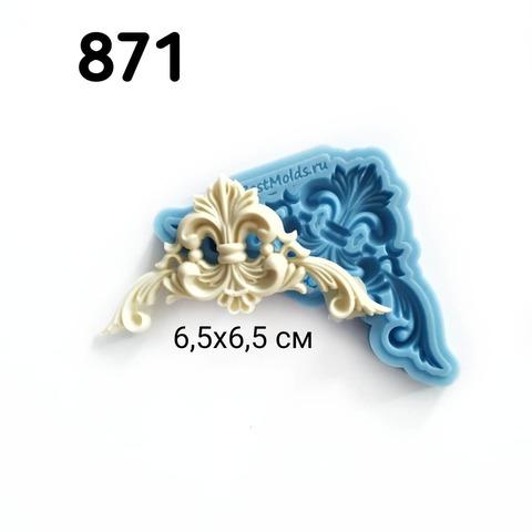 0871 Молд силиконовый. Уголок маленький.
