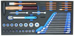 Ящики WorkMo W3 с набором инструмента, 110 шт. | Gedoretools.ru