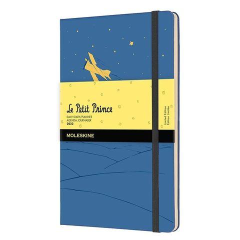 Ежедневник Moleskine (DPP12DC3Y22) LE L`Petit Prince Large 130х210мм 400стр. синий