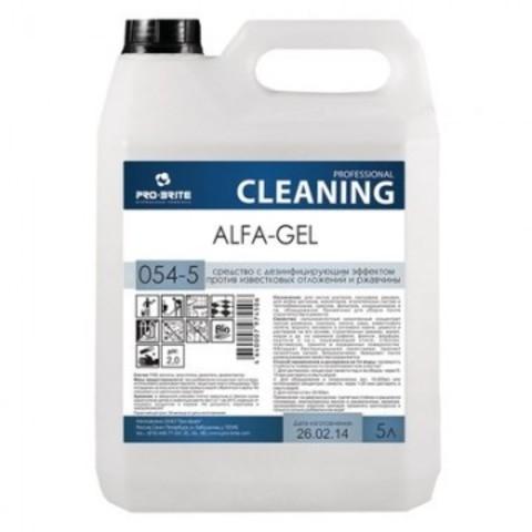 Чистящее средство против известковых отложений и ржавчины Pro-Brite Alfa-Gel 5 л (концентрат)