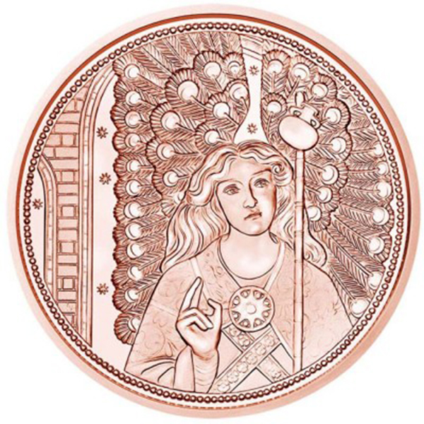 10 евро 2018 Австрия - Ангел-хранитель Рафаил.