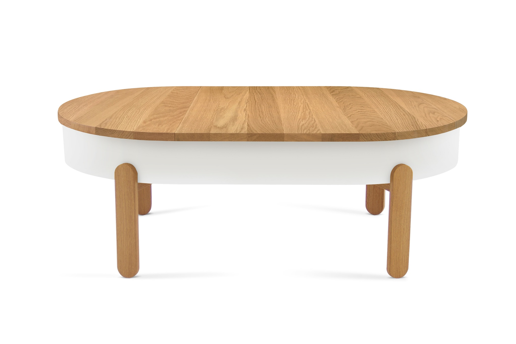 Журнальный стол BATEA L дуб - вид 1