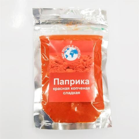 Приправа МИР ВКУСОВ И АРОМАТОВ Паприка красная сладкая копчен 40 г ИСПАНИЯ