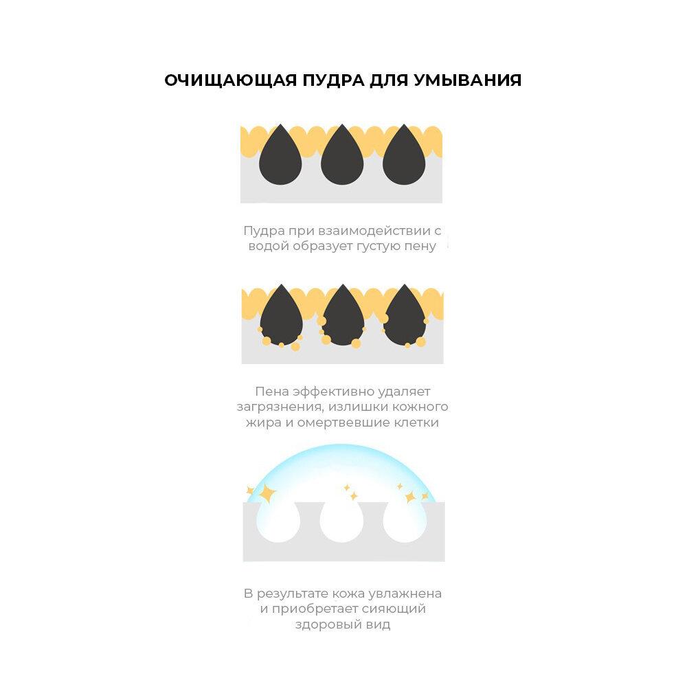 Энзимная пудра для очищения кожи с экстрактом прополиса HONEY LUMINOUS ROYAL PROPOLIS POWDER CLEANSER BLACK, 30 шт
