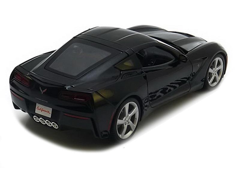 Коллекционная модель Chevrolet Corvette StinGrey Coupe 2014 Black