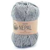 Пряжа Drops Nepal 0517 серый