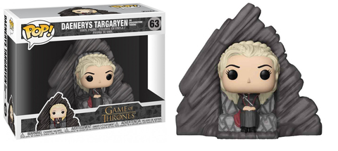 Фигурка Funko POP! Rides: Game of Thrones S8: Daenerys on Dragonstone Throne 29165