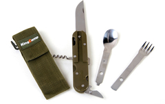 Ложко-вилка-нож Kingcamp Multi Camp Kit