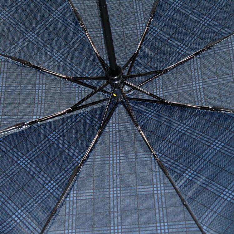 Зонт складной Baldinini 557-1 Cravatteria blu scacchi