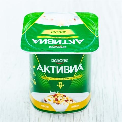 Йогурт АКТИВИЯ Мюсли 2,9% 120 гр Danone РОССИЯ