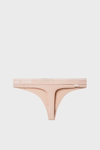 Женские бежевые трусики Calvin Klein