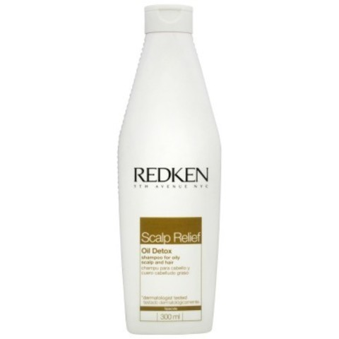 Redken Scalp Relief: Шампунь для контроля жирности кожи головы (Oil Detox Shampoo), 300мл