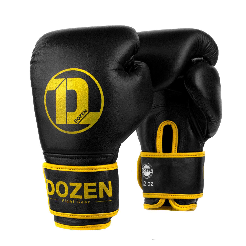 Перчатки Dozen Monochrome Black/Yellow главный вид