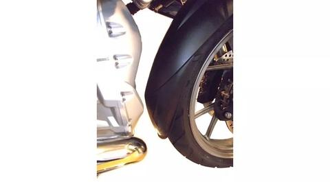 Удлинитель переднего крыла BMW R 1200/1250 GS/GSA, черный