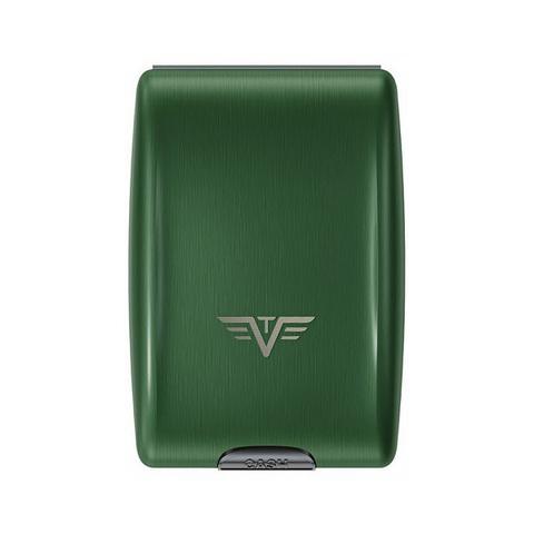Кошелек c защитой Tru Virtu Oyster, зеленый , 102x70x27 мм