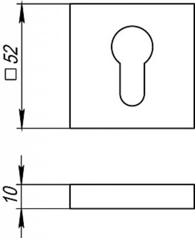 Накладка FUARO ET DM SN/CP-3 Схема