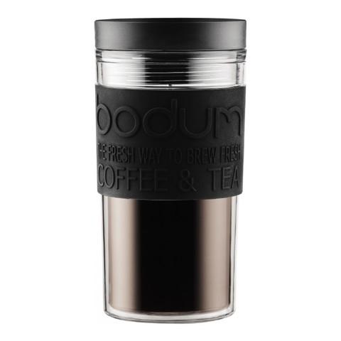 Кружка дорожная Bodum Travel (0,35 литра), черная