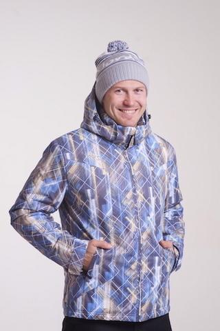 Утепленная лыжная куртка Nordski City Blue/Yellow/Black мужская