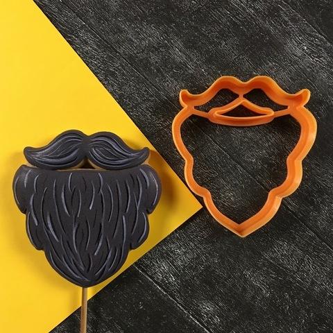 Борода с усами №1