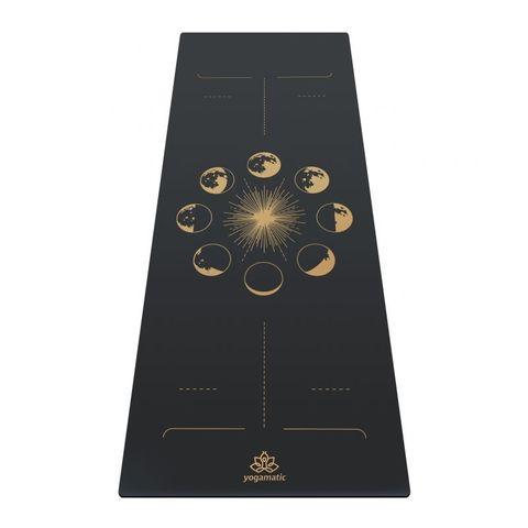 Каучуковый йога коврик Sun and moon  185*68*0,4 см