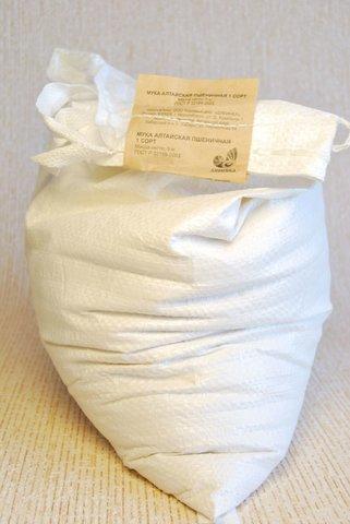 Мука пшеничная хлебопекарная, Дивинка, Алтайская, 1 сорт, мешок, 5 кг.