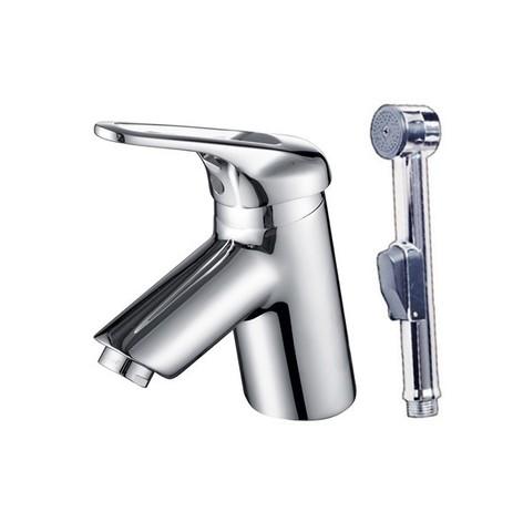 Смеситель KAISER Douglas 12088 для раковины + биде с гигиеническим душем