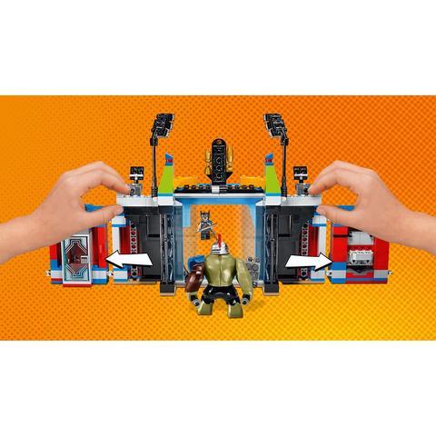 LEGO Super Heroes: Тор против Халка: Бой на арене 76088 — Thor vs. Hulk: Arena Clash — Лего Супергерои Марвел