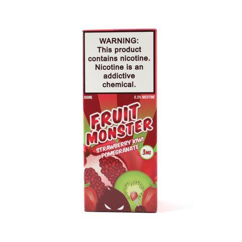 Жидкость FRUIT MONSTER Strawberry Kiwi Pomegranate
