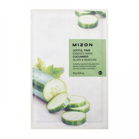 Mizon Тканевая маска с огурцом Joyful Time Essence Mask Cucumber, 1 шт