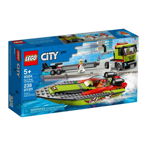 Lego konstruktor  Race Boat Transporter