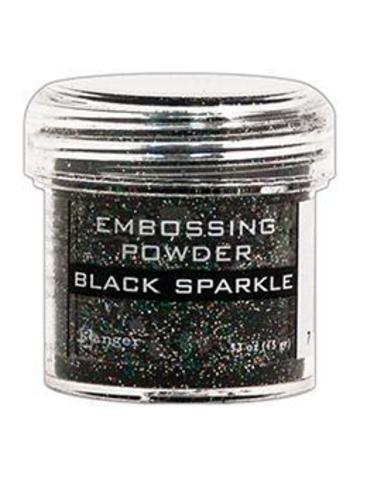 Пудра для эмбоссинга Ranger Ink- BLACK SPARKLE