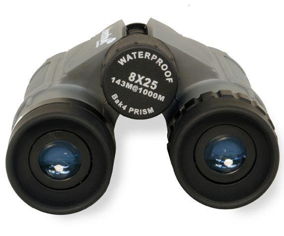 Бинокль Levenhuk Karma Plus 8x25: многоэлементные окуляры