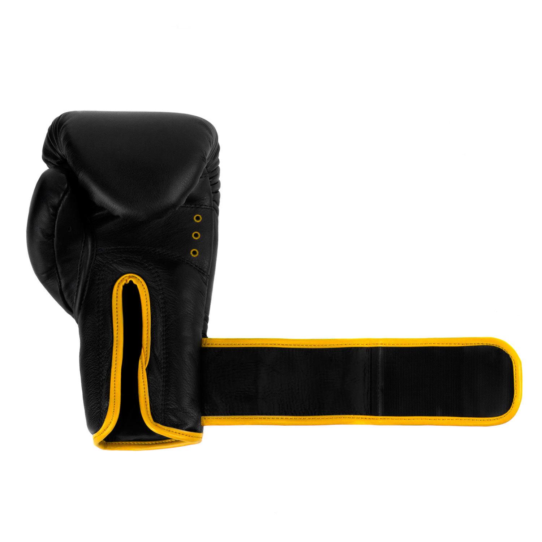 Перчатки Dozen Monochrome Black/Yellow длина манжета