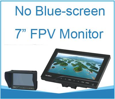 fpv монитор 7 дюимов 800 х 480 для коптера