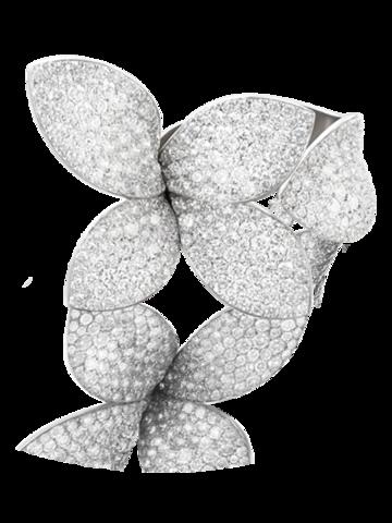 Кольцо разъемное GIARDINI  из серебра с микроцирконами