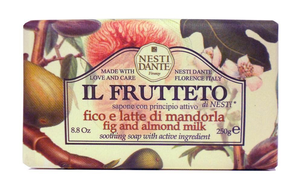 IL FRUTTETO Fig & Almond milk / Инжир и миндальное молоко мыло 250 гр