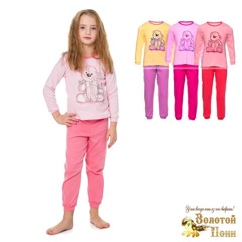 Пижама хлопок девочке (92-134) 191210-A1955