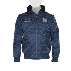 Куртка утепленная 'MA-1 Hooded New York' Navy Camo
