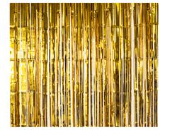 Занавес золото 1м х 2м, 1 шт.
