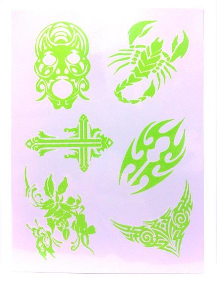 Фосфорные татуировки